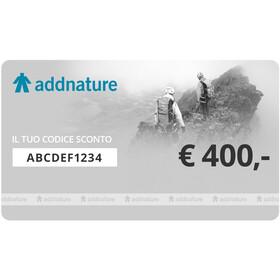 addnature Gift Voucher, 400 €